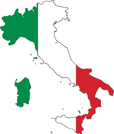 географических карт Италии