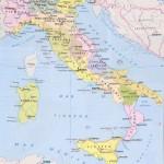 Италия на итальянской политической карте