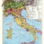 Экономика Италии на экономической карте